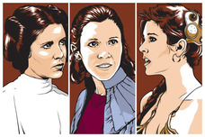 Star Wars Artwork Star Wars Artwork The Princess